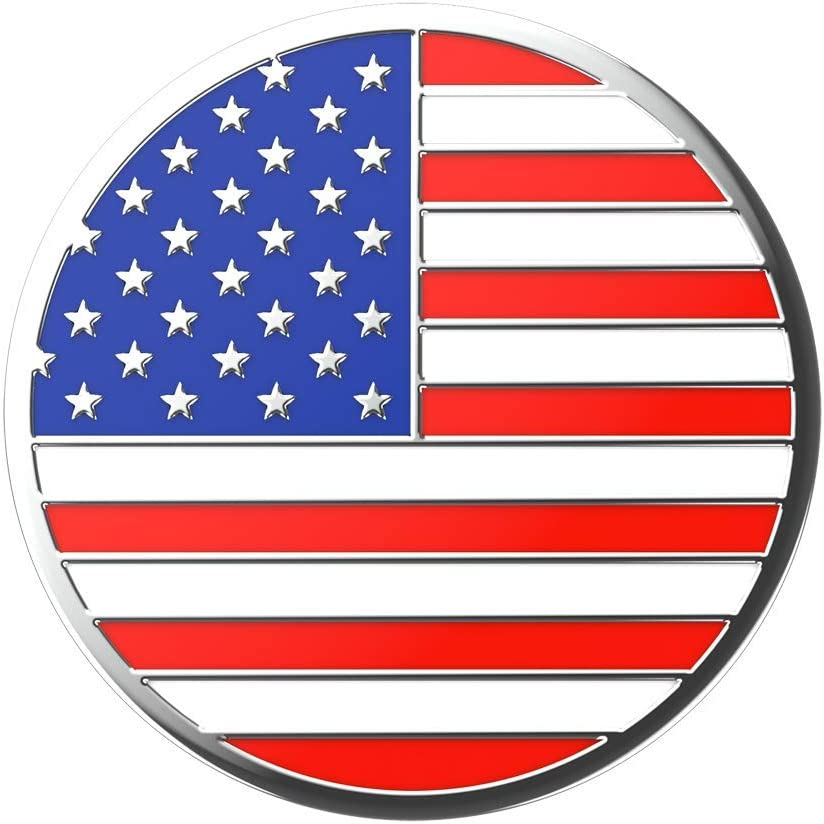 : Swappable Top for PopGrip bases Otter+Pop /& PopWallet+ Top only. Base sold separately. PopGrip Slide Enemal Old Glory PopSockets PopTop