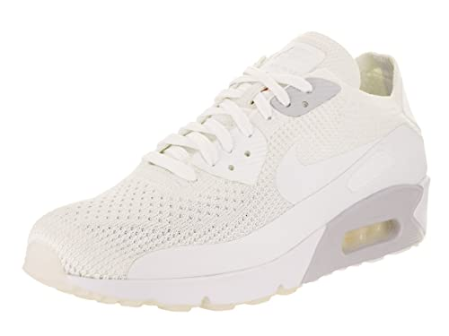 NIKE Men's Air Max 90 Ultra 2.0 Flyknit WhiteWhite Pure