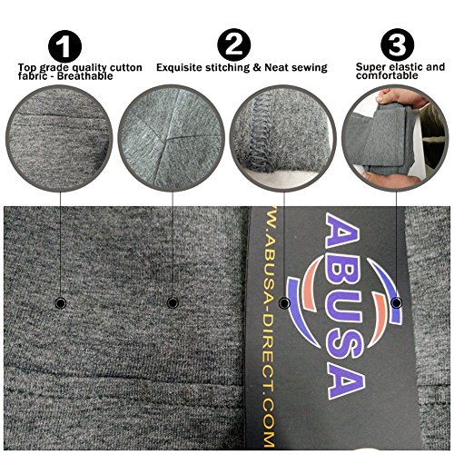 Grey Femme Legging Abusa 133 Capri Multicolore Black gq1Yzd1