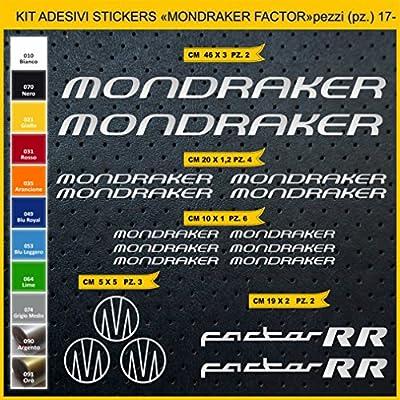 Kit Pegatinas Stickers Bicicleta MONDRAKER Factor RR -Kit 2-17 ...