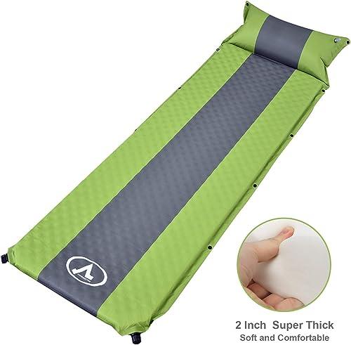 charaHOME Camping Sleeping Pad Self-Inflating