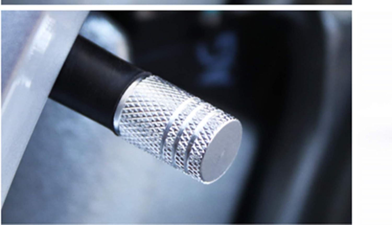EXQUILEG 4 St/ück Ventildeckel Auto Ventilkappen Abdeckung Reifen Stamm Ventil Kappen Autoventil Aluminium Auto Staubdicht Kappe Reifen Radschaft Luft Ventilkappe mit Gummikissen