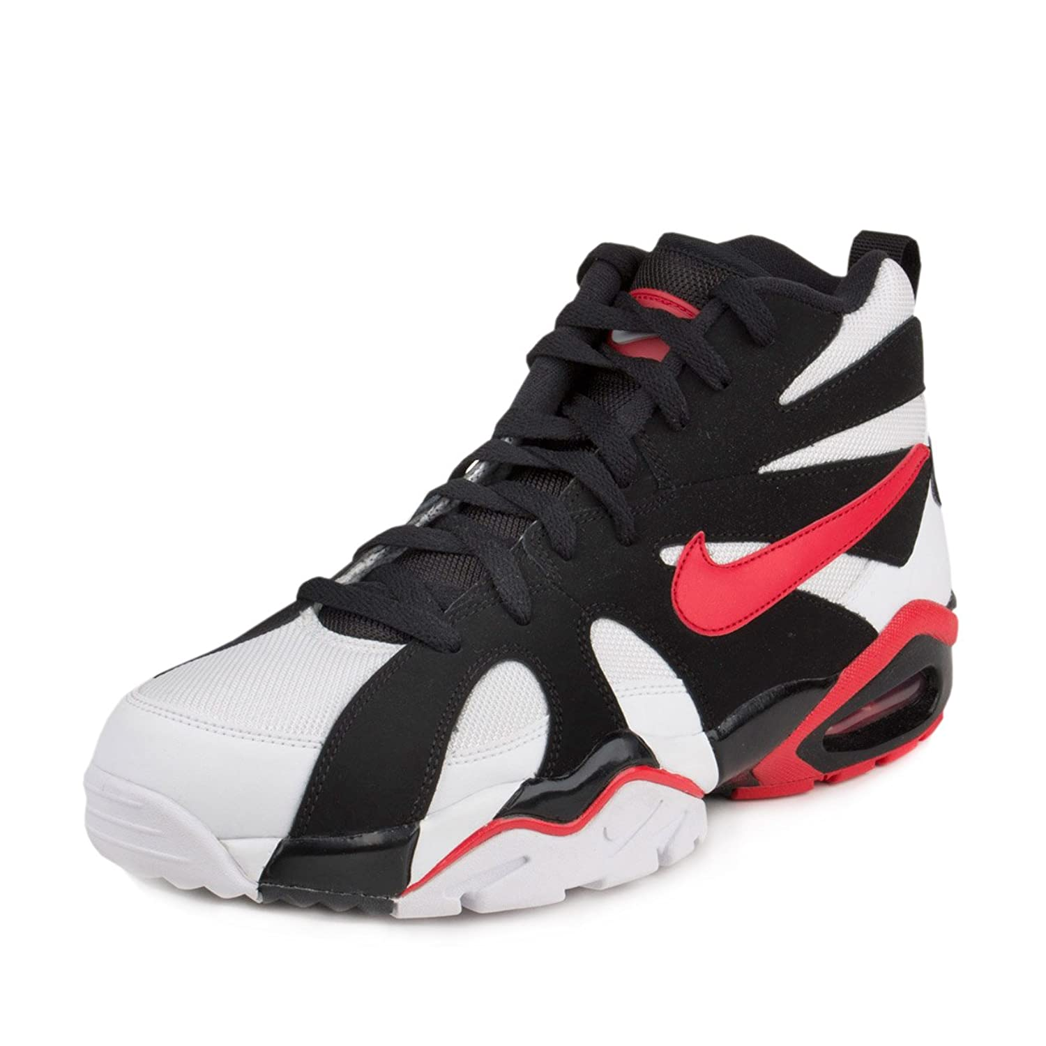 best service e871f dcf82 ... Amazon.com NIKE AIR DIAMOND FURY 96 WHITE UNIVERSITY RED BLACK Football  ...