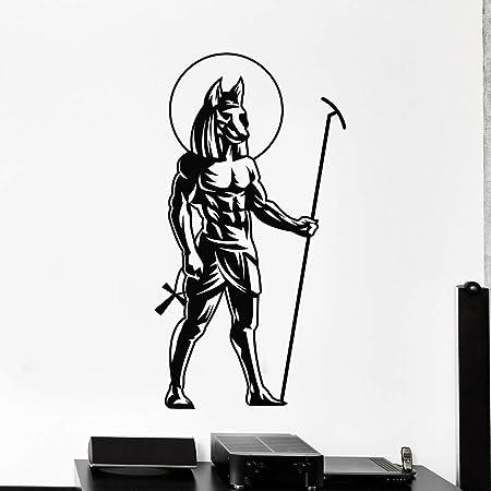 JXMN Dios Egipcio Antiguo Tatuajes de Pared Dormitorio ...