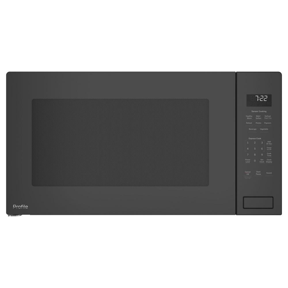 GE Profile PEB7227BLTS 25 Inch Built In Microwave Oven with 1100 Cooking Watts, 2.2 cu. ft. Capacity in Black Stainless Steel
