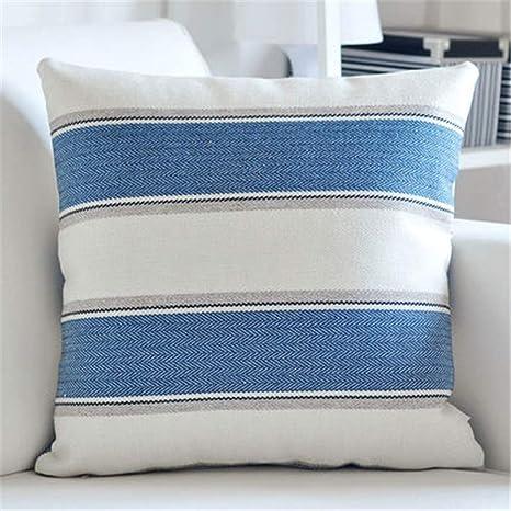 Almohada del sofá del hogar Funda de almohada Cojín de lino ...