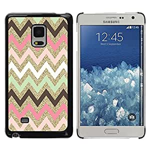 iKiki Tech / Estuche rígido - Indian Pattern Native Pink - Samsung Galaxy Mega 5.8 9150 9152