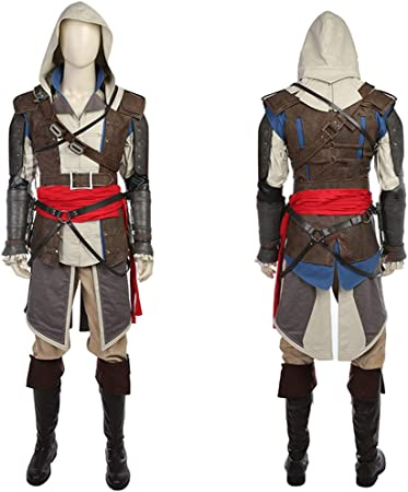 Nihiug Assassin S Creed 4 Black Flag Game Complete Cos Clothing