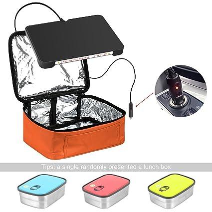 yiboss Mini horno eléctrico calefacción Mini portátil y # xFF0 C; Bolsa para el almuerzo