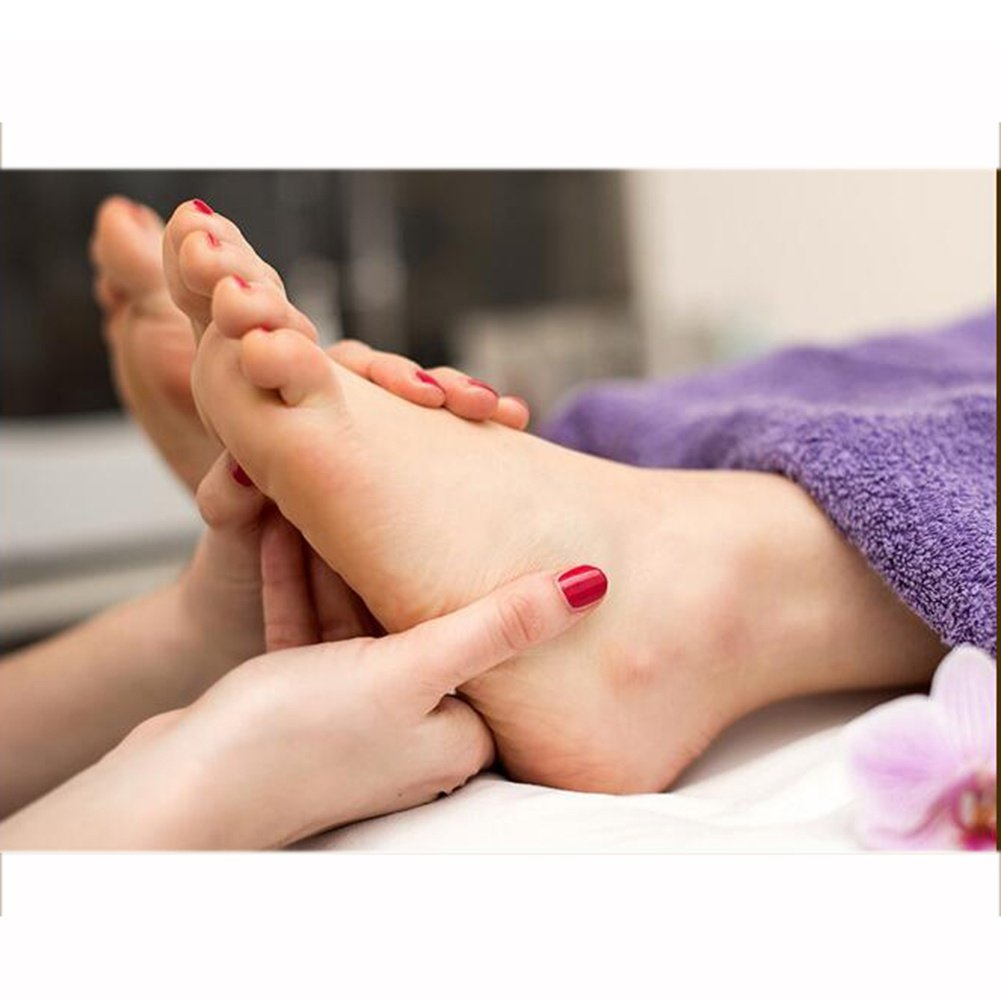FJY Reflexzonen Massage Hausschuhe Pantoffeln Schuhe Akupressur Pebbles Gesundheit Schuhe Pantoffeln Fußreflexzonen Akkupressur Kopfsteinpflaster Fußmassage Plantar,Professionelle Ausgabe schwarz df81d4