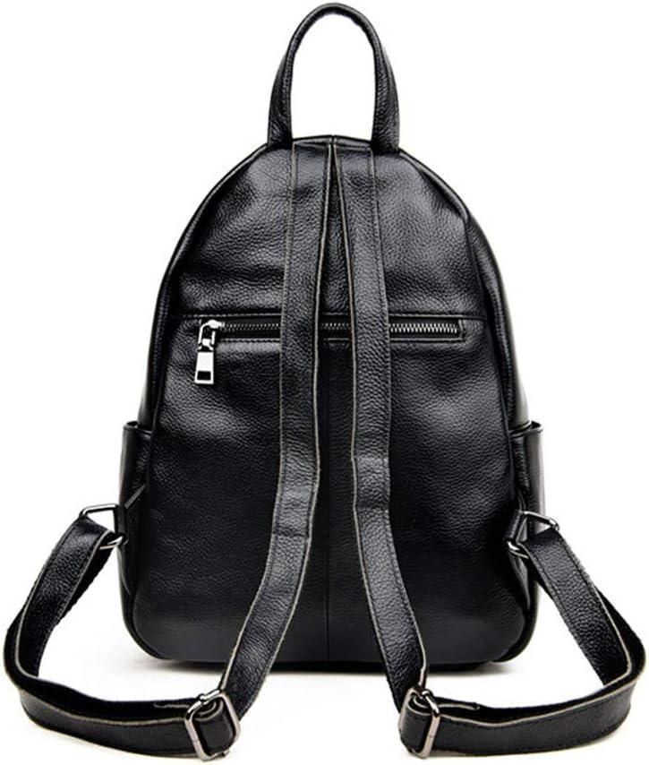 100/% Real Women Backpacks Korean Style Design Travelling Backpack Dark Blue