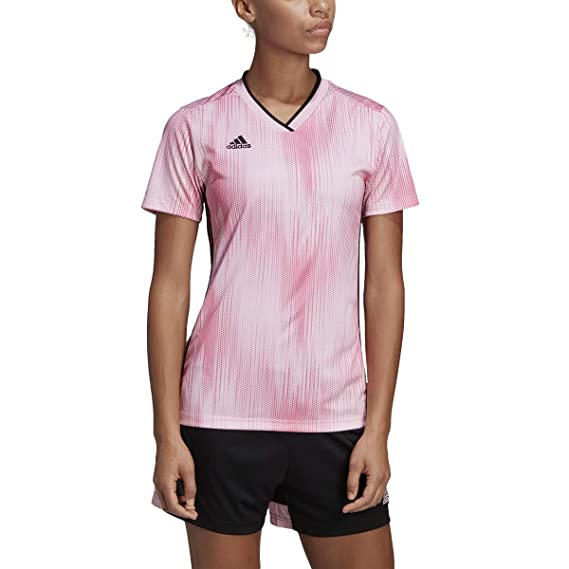 adidas Tiro 19 Jersey Women's Soccer S True PinkBlack
