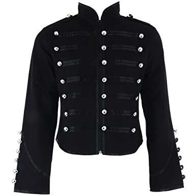 wie kauft man Trennschuhe großer Diskontverkauf Banned Military Jacke (Schwarz)