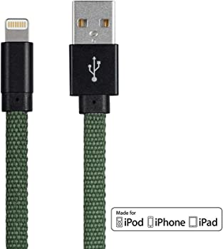 2-Pack Monoprice 6ft Apple MFi Certified Lightning to USB Cable