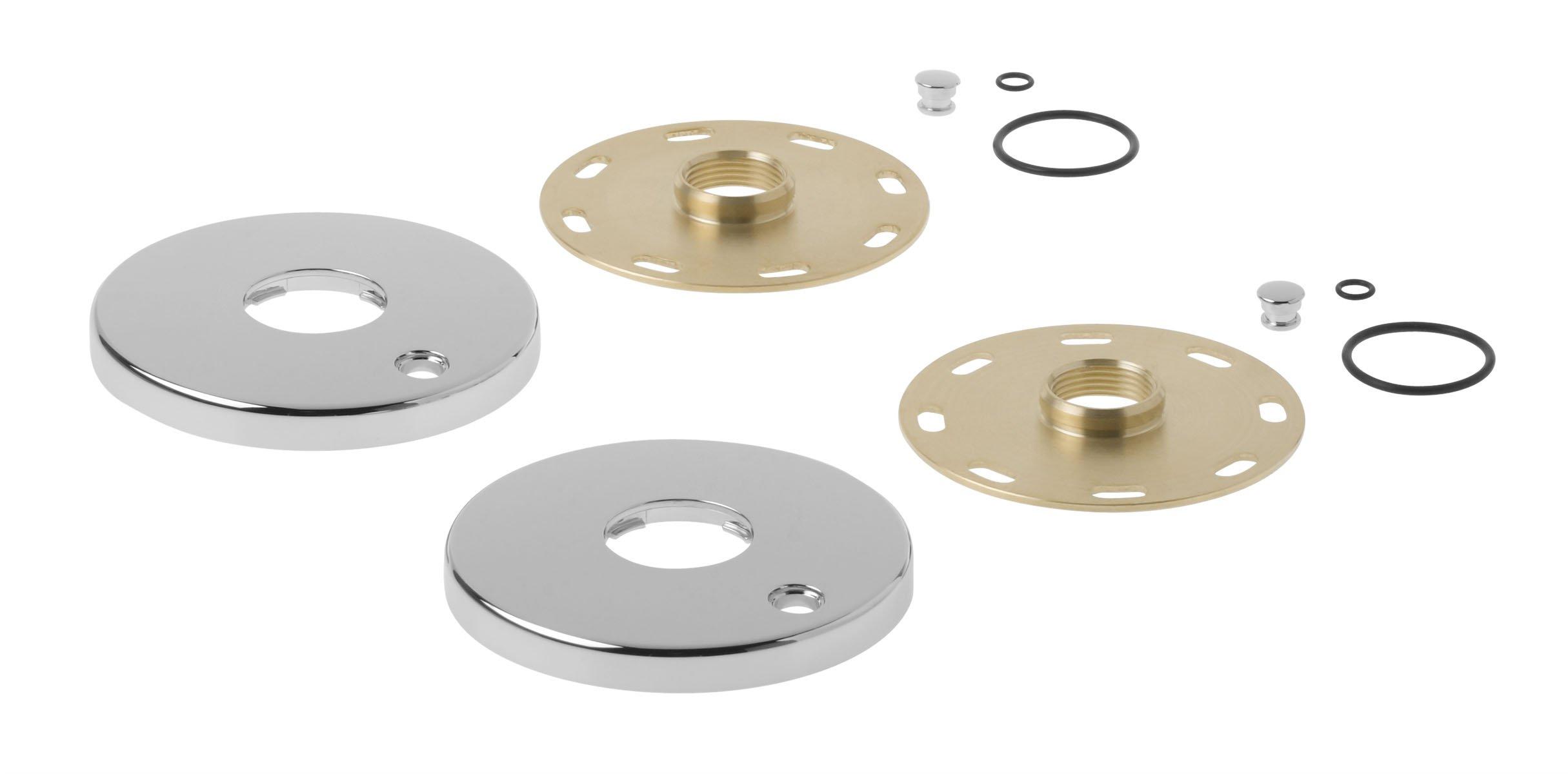 Kohler 1194302-CP Escutcheon/Mounting Collar Kit, Large