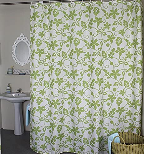 Welwo Shower Curtains Ivy Leaves Curtain X Wide Or Extra