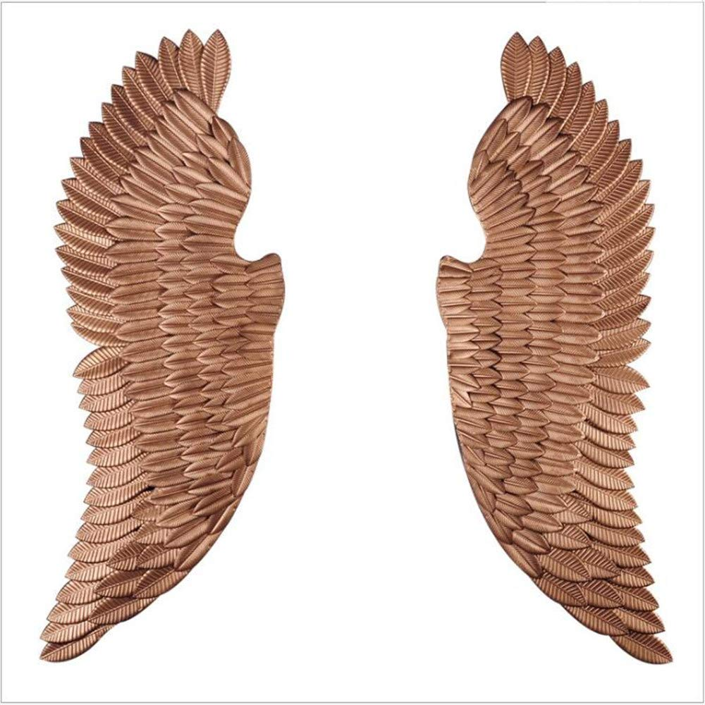 WDS ZLH-Wrought Iron Vintage Wall Decoration Creative Wall Decoration Wall Hanging bar Cafe Cyber Decoration Pendant Angel Wings