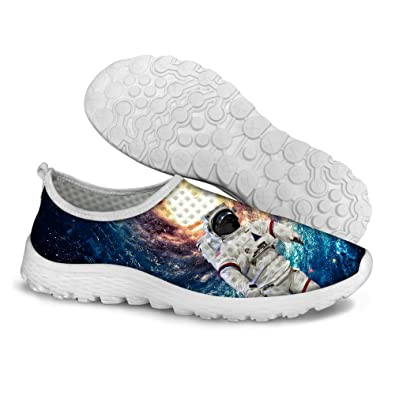FOR U DESIGNS Funny Universe Style Mesh Lightweight Running Shoes for Women  US 5 4f2314b2d