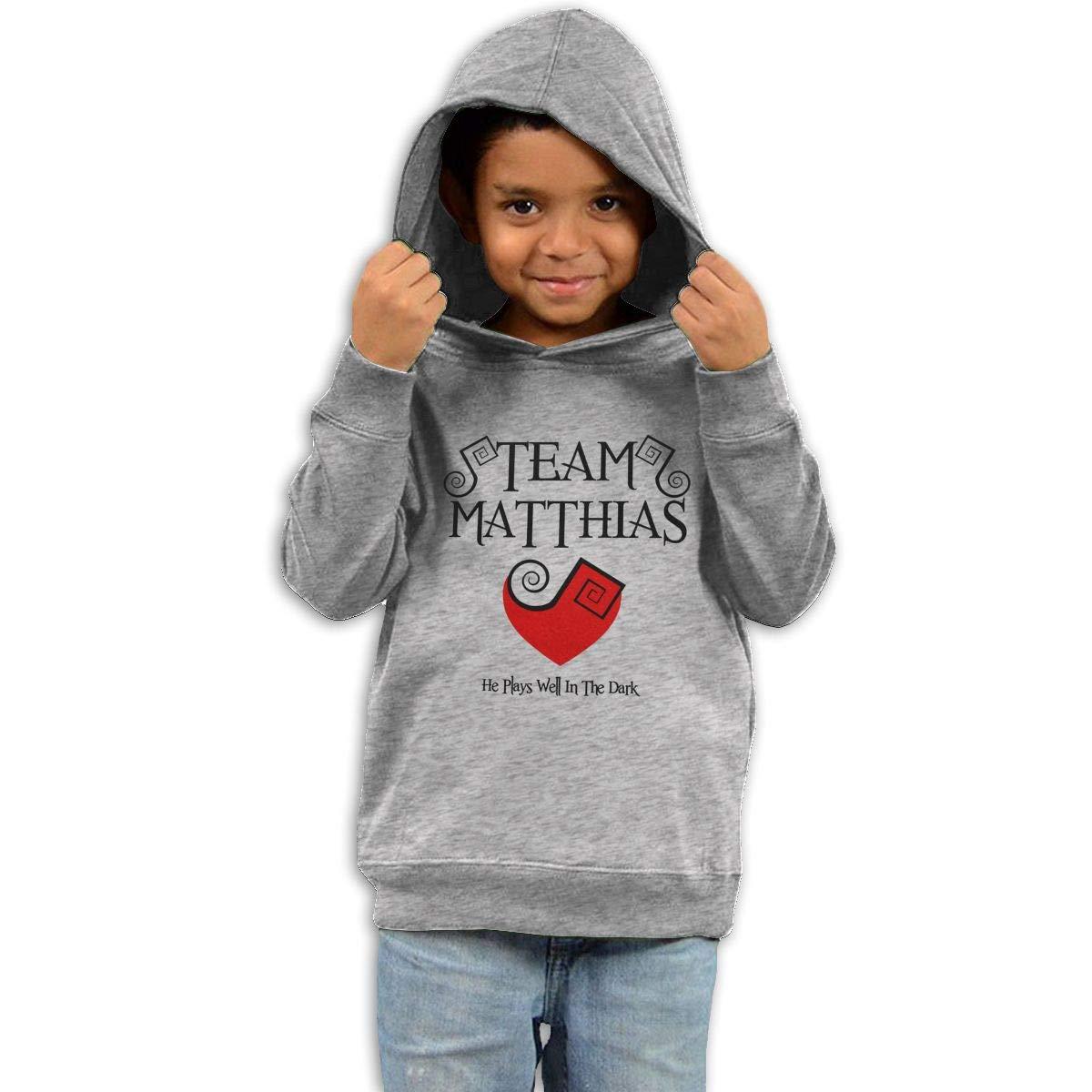 Stacy J. Payne Kids Team Matthias Classic Hoody40 Gray