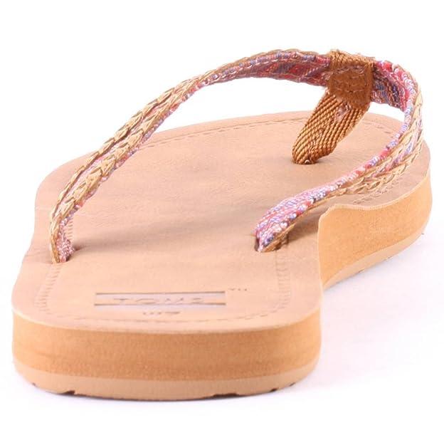 e3916cd3d9f TOMS Womens Solana Flip Flop