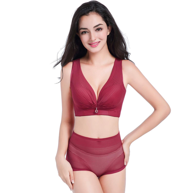d94386cda96 Plus Size Lingerie Set Bra Set Bralette Lace Underwear Women Push Up Women  Set at Amazon Women s Clothing store