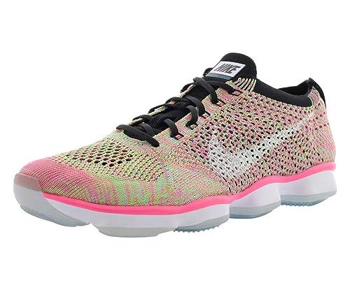 0675494c7c4e ... training shoe online shop 434ad 7d2c2  cheapest nike womens wmns flyknit  zoom agility hyper turq white black pnk pow ae34e cb5e5