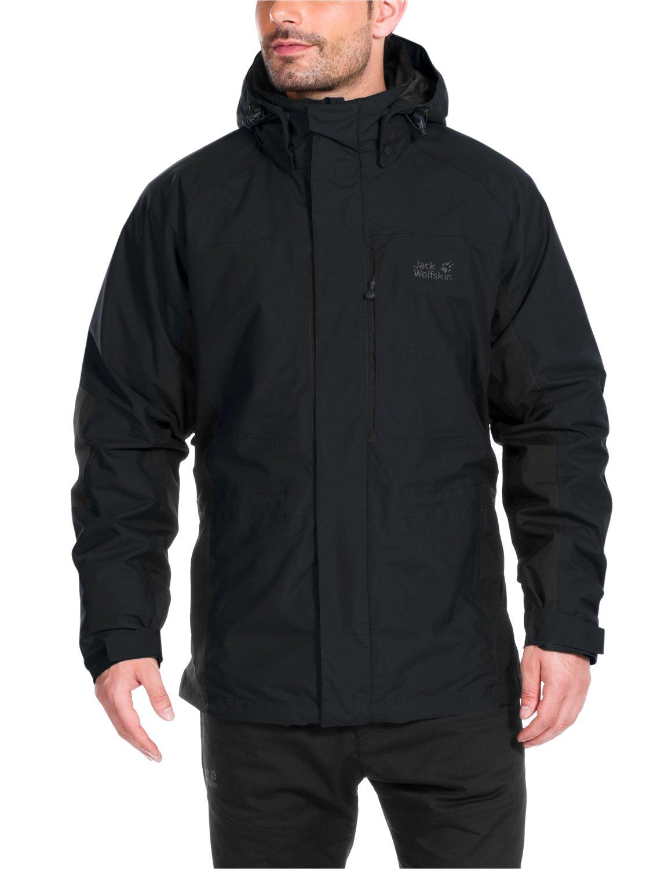 jack wolfskin herren 3 in 1 jacke brooks range jacket. Black Bedroom Furniture Sets. Home Design Ideas
