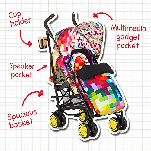 Cosatto Supa Stroller, Pixelate by Cosatto (Image #7)