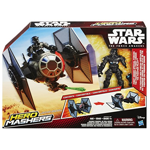 Star Wars Hero Mashers Episode VII TIE Fighter and TIE Fighter Pilot - http://coolthings.us