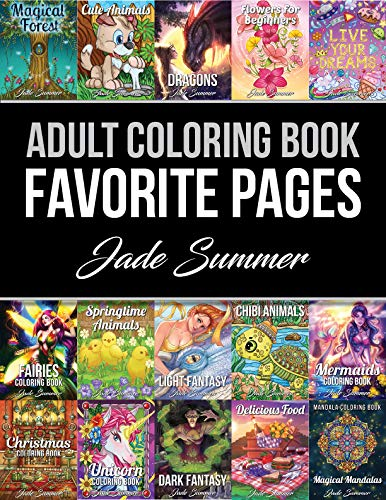 Amazon Com Adult Coloring Book Favorite Pages 50 Premium
