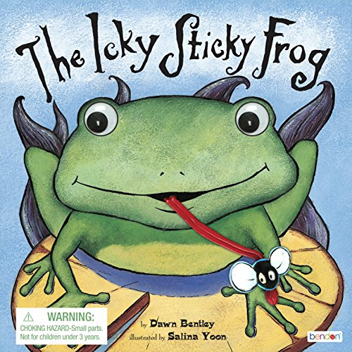 Bendon 42801 Piggy Toes Press Icky Sticky Frog Interactive Storybook