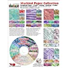 ScrapSMART – Vintage Marbled Papers Collection Software – Jpeg and PDF Files (CDMPC169)