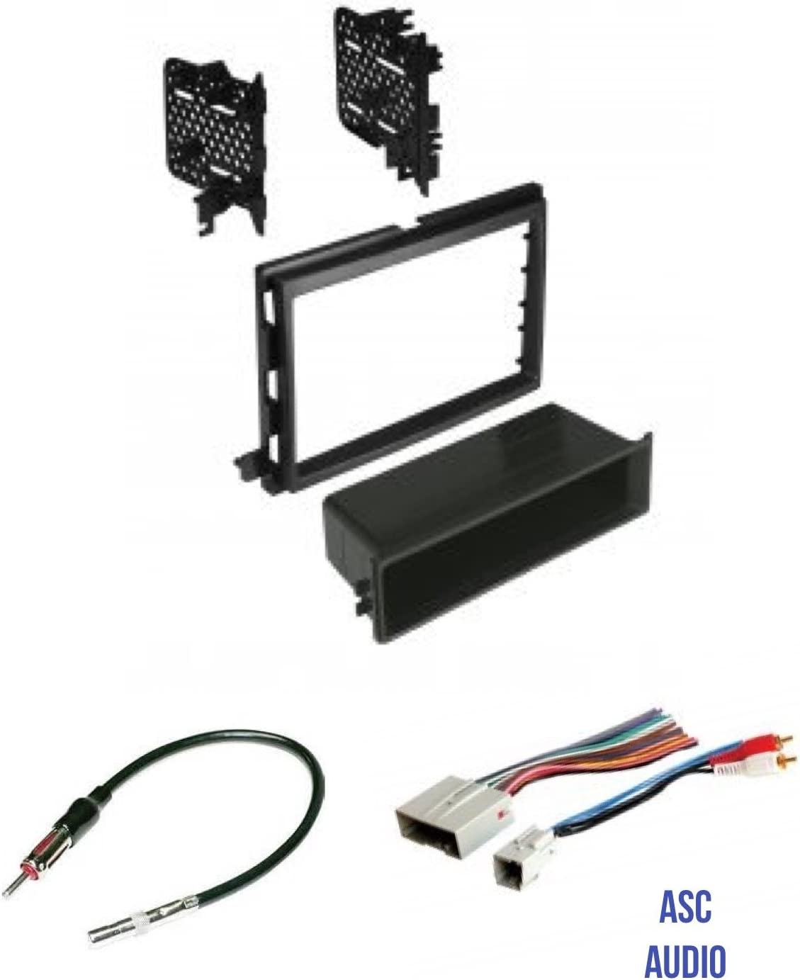 Amazon.com: ASC Audio Car Stereo Radio Install Dash Kit, Wire Harness, and  Antenna Adapter to Install an Aftermarket Radio for some Ford Lincoln  Mercury Vehicles: Car ElectronicsAmazon.com