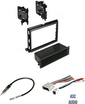 ASC - Kit de instalación de Radio estéreo para Coche, arnés de Cable y Adaptador de Antena para Instalar una Radio de Repuesto para Algunos vehículos ...