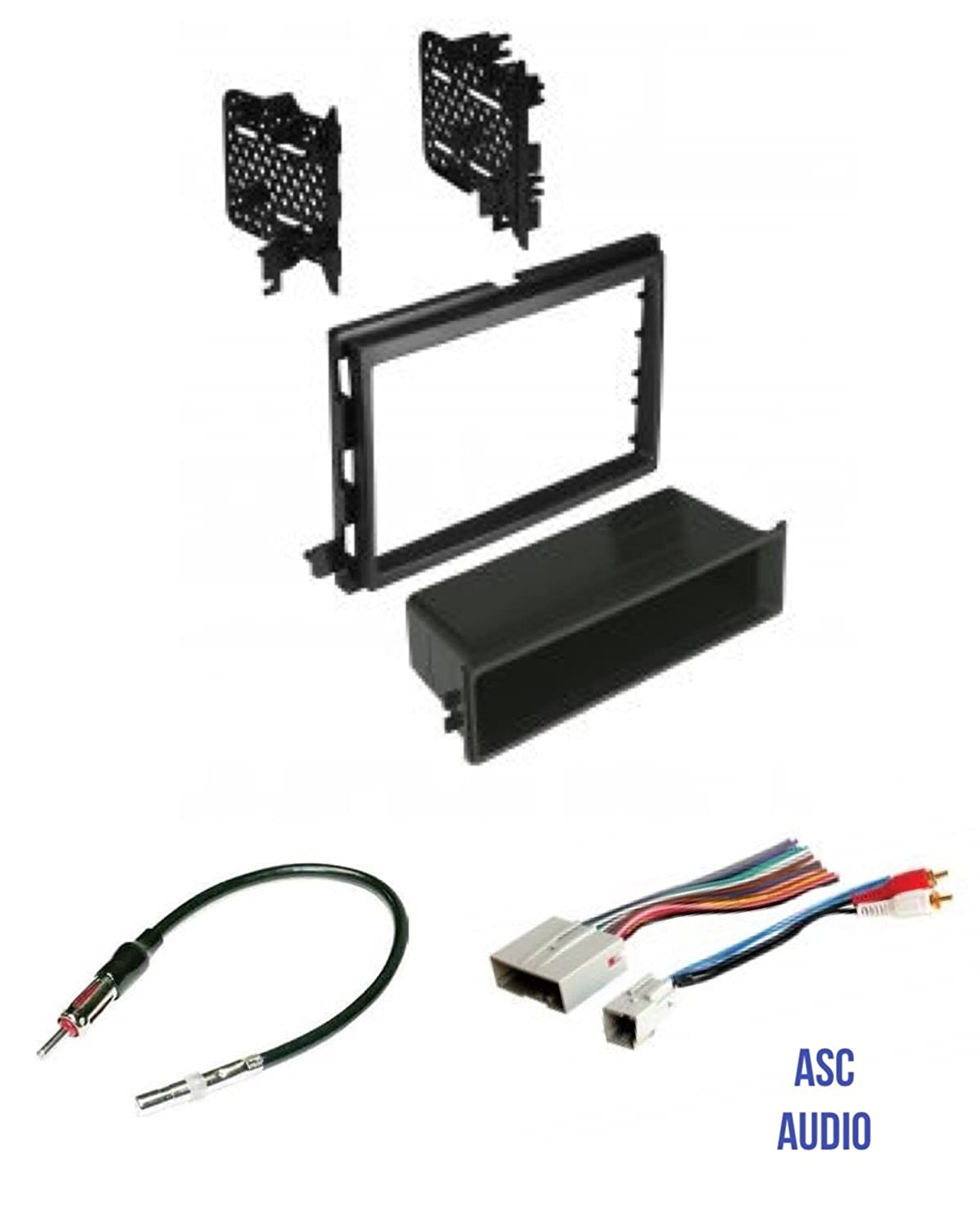 Asc Audio Car Stereo Radio Install Dash Kit Wire 2008 Ford Focus Wiring Harness Adapter And Antenna To An Aftermarket For Some Lincoln Mercury