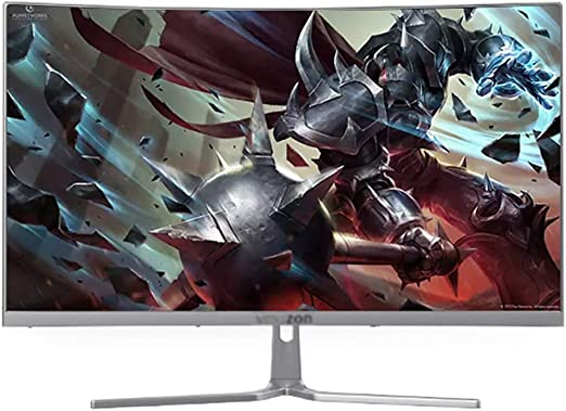 Monitor Pantalla de 27 Pulgadas con Ultra-Estrecho Bisel, 2500 curvatura HD Pantalla Curva, Pantalla LCD de Ordenador, Pantalla de ángulo de 1080p Full HD visión de 178 ° (Color : B): Amazon.es: Hogar