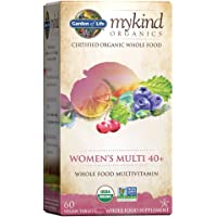 Garden of Life mykind Organics Vitamins for Women 40+ - 60 Tablets, Womens Multi 40+, Vegan Vitamins for Women Over 40…
