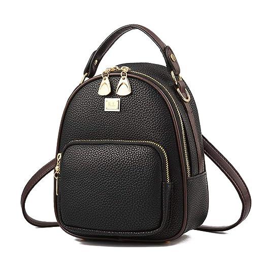 Amazon.com: Gashen - Mini mochila de piel sintética con ...