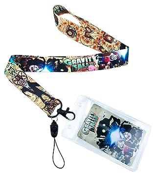 Amazon.com: Gravity Falls - Llavero con cordón para ...