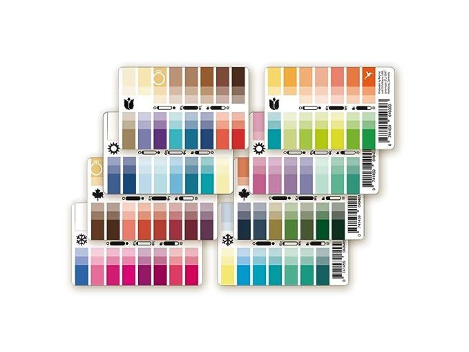 Colori pass per colore autunno come plastica carta: amazon.it