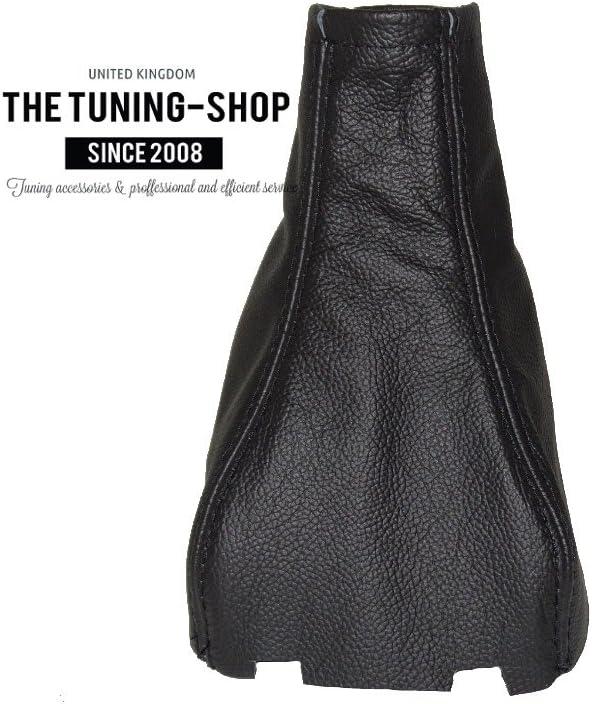 Gear Stick Gaiter Black Genuine Leather
