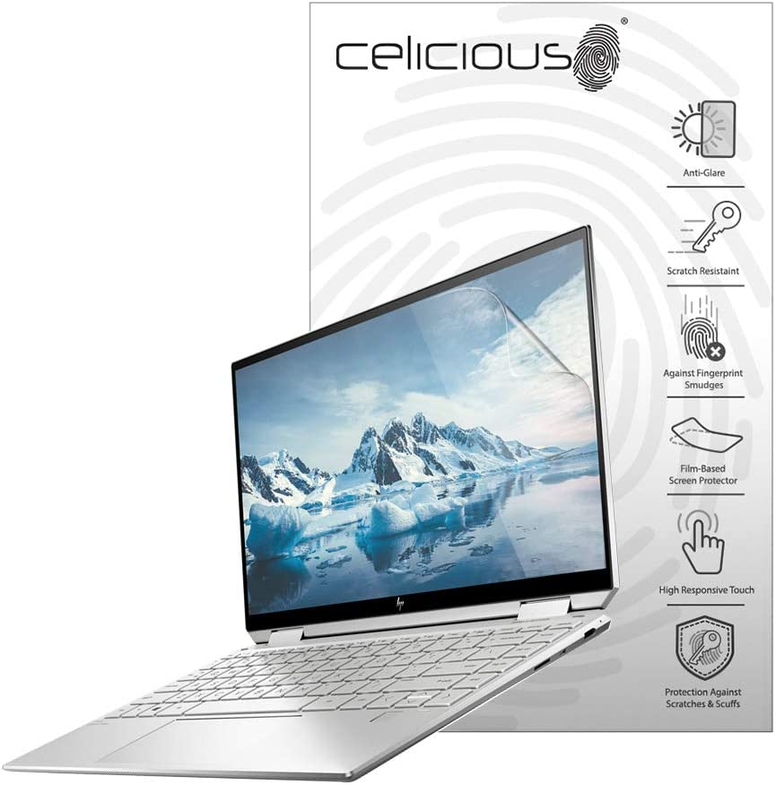 Celicious Matte Anti-Glare Screen Protector Film Compatible with HP Spectre x360 13 AW0013dx [Pack of 2]