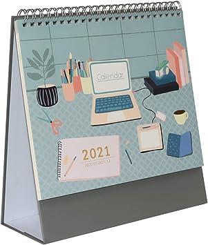 Desk Calendar 2021-2022 Amazon.com: Multibey Year 2021 2022 Desktop Calendar Table Self