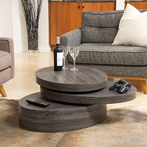 Pine Oval Coffee Table - 8