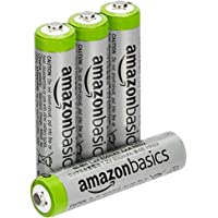 AmazonBasics AAA High-Capacity Rechargeable 4-Pack