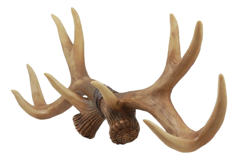 Amazon.com: ebros rústico de cazador 10 puntos de cuernos de ...