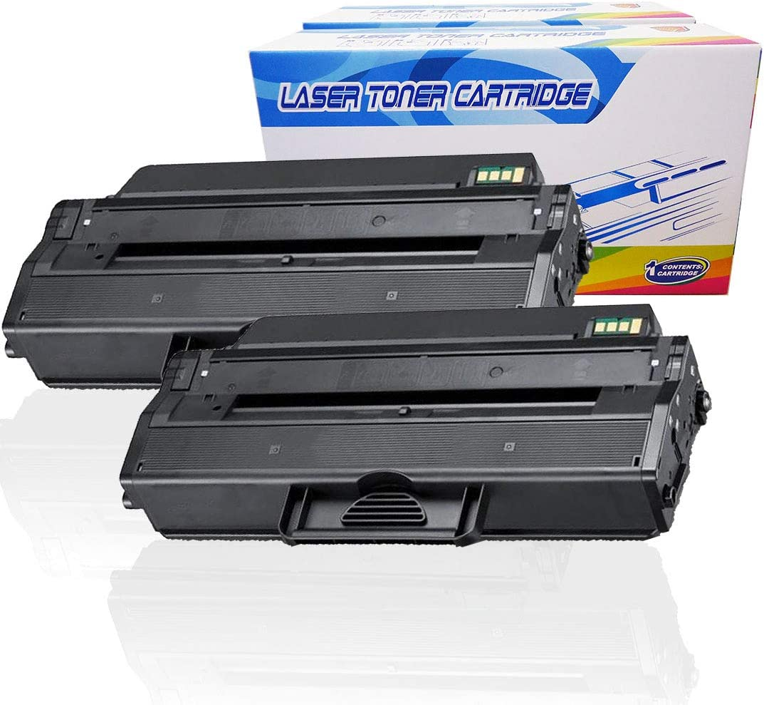 Inktoneram Compatible Toner Cartridges Replacement for Dell B1260dn B1265dnf 331-7328 (Black, 2-Pack)