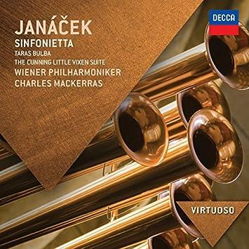 Janacek: Sinfonietta; Taras Bulba; The Cunning Little Vixen Suite (Virtuoso series) by Wiener Philharmoniker