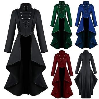 keepmore Vestido Medieval Mujeres Renacimiento Maxi Celta ...