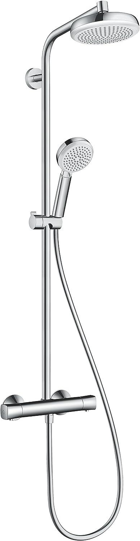 Columna de ducha hansgrohe crometta 160 showerpipe termostãtica